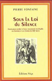 Sous La Loi Du Silence - Intérieur - Format classique