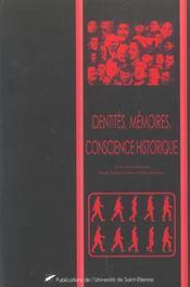 Identites Memoires Conscience Historique - Intérieur - Format classique