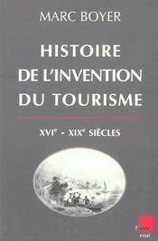Histoire De L'Invention Du Tourisme - Intérieur - Format classique