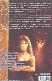 Voix Des Dragons (La) - 4ème de couverture - Format classique