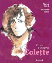 En Tete-A-Tete ; Avec Colette - Couverture - Format classique