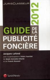 Guide de la publicité foncière (édition 2012) - Couverture - Format classique