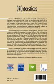 Interstices N.2 ; Formel Vs Informel - 4ème de couverture - Format classique