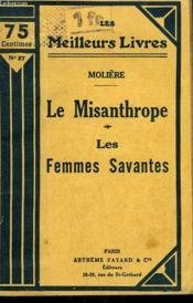 Le Misanthrope Suivi De Les Femmes Savantes. Collection : Les Meilleurs Livres N° 27. - Couverture - Format classique
