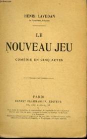 Le Nouveau Jeu. Comedie En 5 Actes. - Couverture - Format classique