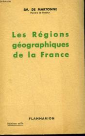 Les Regions Geographiques De La France. - Couverture - Format classique