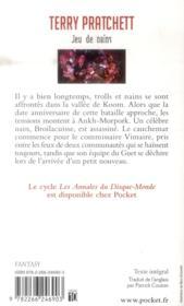 Les annales du disque-monde t.30 ; jeu de nains - 4ème de couverture - Format classique