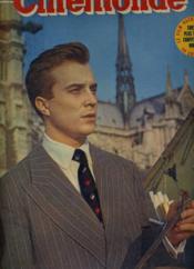 CINEMONDE - 20e ANNEE - N° 956 - PHILIPPE LEMAIRE collectionne lesz vieilles estampes et les jeunes admiratrices - Couverture - Format classique