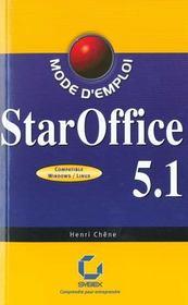 Staroffice 5.1 mode d'emploi - Intérieur - Format classique