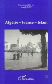 Algerie-France-Islam : Actes Du Colloque - Couverture - Format classique