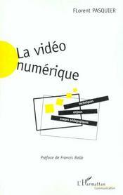 La Video Numerique - Intérieur - Format classique