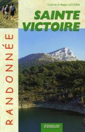 Sainte Victoire Randonnee - Couverture - Format classique