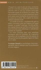 Thérèse d'Avila ; l'aventure de Dieu - 4ème de couverture - Format classique
