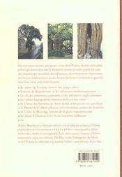 Histoires de france racontees par les arbres - 4ème de couverture - Format classique