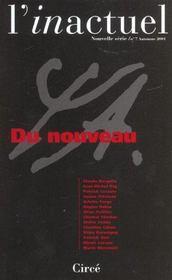 Revue L'Inactuel 07 - Du Nouveau - Intérieur - Format classique
