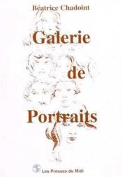 Galerie De Portraits - Couverture - Format classique