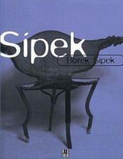 Borek Sipek (Francais) - Couverture - Format classique
