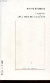 Esquisse pour une auto-analyse - Couverture - Format classique
