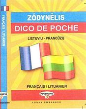Dico de poche lietuviu-prancüzu / français-lituanien - Intérieur - Format classique