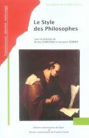 Style des philosophes - Intérieur - Format classique