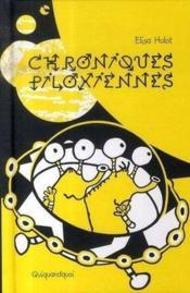 Chroniques piloxiennes - Couverture - Format classique