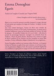 Égarés - 4ème de couverture - Format classique