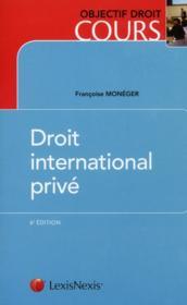 Droit international privé (6e édition) - Couverture - Format classique