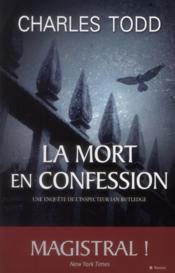 La mort en confession - Couverture - Format classique