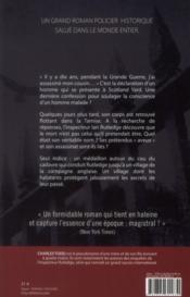 La mort en confession - 4ème de couverture - Format classique