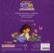 Dora l'exploratrice ; coloriages codés - 4ème de couverture - Format classique