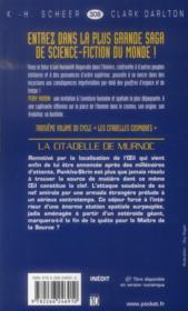 Perry Rhodan - cycle 14 ; les citadelles cosmiques T.3 ; la citadelle de Murnoc - 4ème de couverture - Format classique