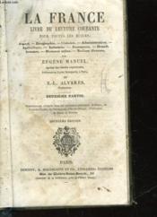 La France Livre De Lecture Courante Pour Toues Les Ecoles - 2° Partie - Couverture - Format classique