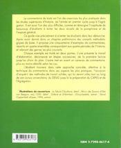 Le Commentaire De Texte En Histoire - 4ème de couverture - Format classique
