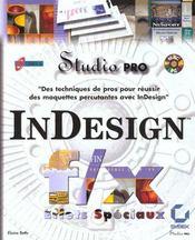 Indesign F/X Effets Speciaux Studio Pro - Intérieur - Format classique
