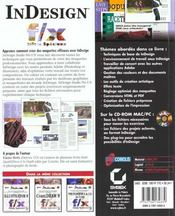 Indesign F/X Effets Speciaux Studio Pro - 4ème de couverture - Format classique