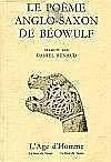 Beowulf, Poeme Anglo-Saxon - Couverture - Format classique