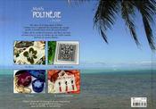 Motifs de polynésie à broder - 4ème de couverture - Format classique