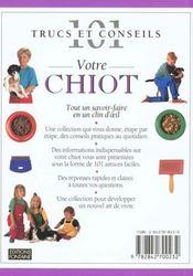 Votre Chiot - 4ème de couverture - Format classique