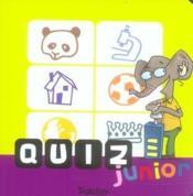 Quizz Junior - Couverture - Format classique