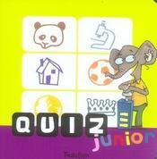 Quizz Junior - Intérieur - Format classique
