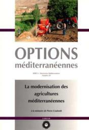 Modernisation des agricultures mediterranee - Couverture - Format classique