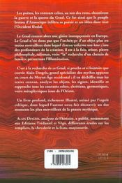 Graal : Tradition Et Queste (Le) - 4ème de couverture - Format classique