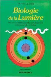 Biologie De La Lumiere - Couverture - Format classique