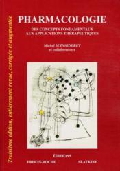 Pharmacologie - 3eme Edition - Couverture - Format classique