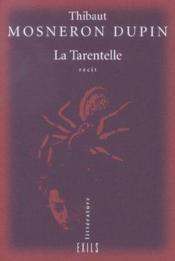 La Tarentelle - Couverture - Format classique