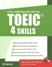 Vente livre :  Total preparation for the TOEIC 4 skills (3e édition)  - Hubert Silly