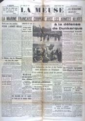 Meuse (La) N°133 du 30/05/1940 - Couverture - Format classique