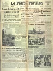 Petit Parisien Edition De Paris (Le) du 16/04/1941 - Couverture - Format classique
