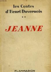 Les Contes D'Henri Duvernois. Tome 2 : Jeanne. - Couverture - Format classique