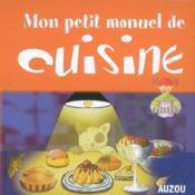 Mon Manuel De Cuisine - Couverture - Format classique